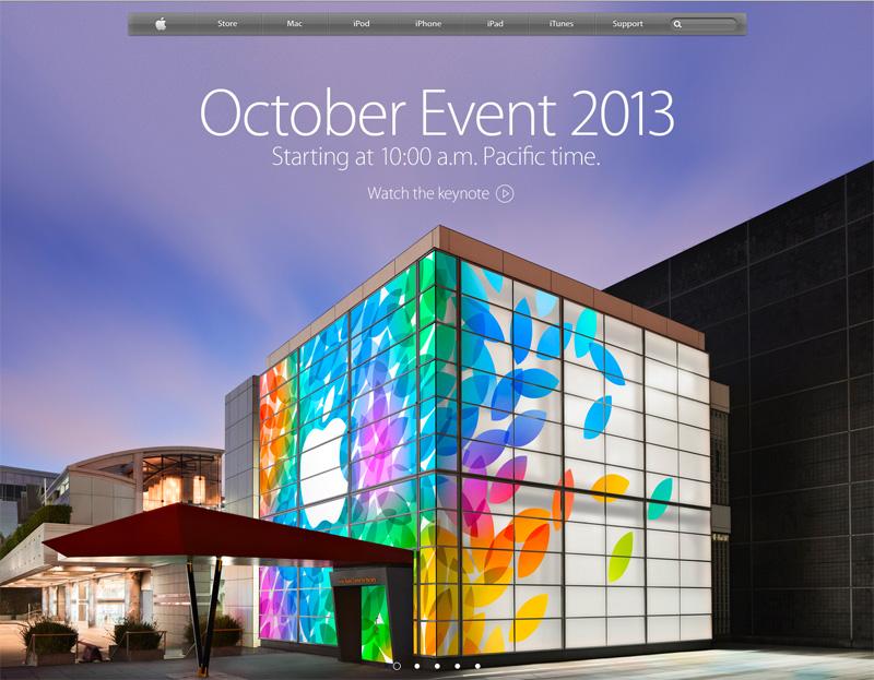 米国のサイトでは、トップページでスペシャルイベントの開催が予告された