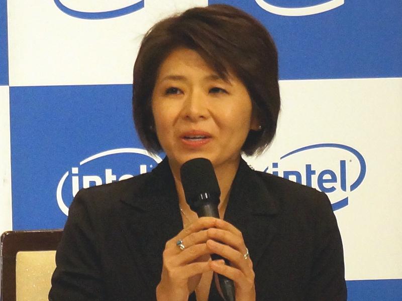 インテルの代表取締役社長に就任した江田麻季子氏