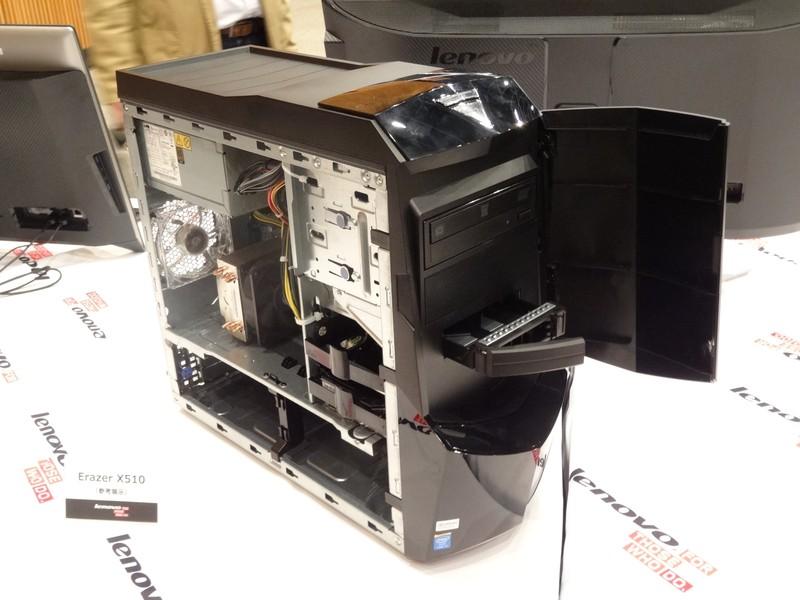 ゲーミングPCである「Erazer」シリーズは現在「Erazer X700」が投入されているが、より小型のモデルとして「Erazer X510」の発売を予定している