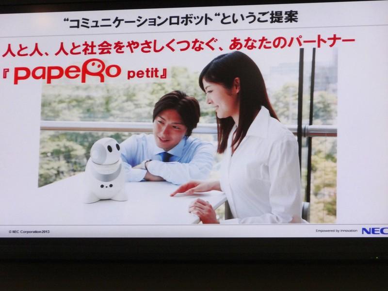 人と情報社会を繋ぐインターフェイス、パートナーとしてのロボットの提案