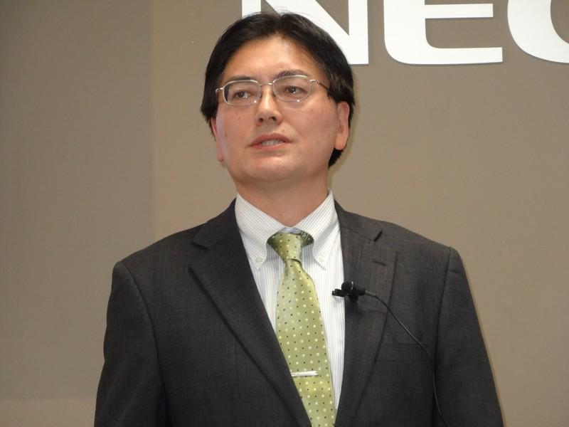 NECソリューションプラットフォーム統轄本部シニアマネージャー 石嶋光氏