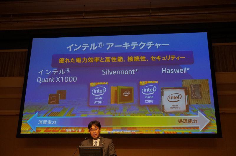 Intelの製品はIoTからサーバーまで多岐に渡っている