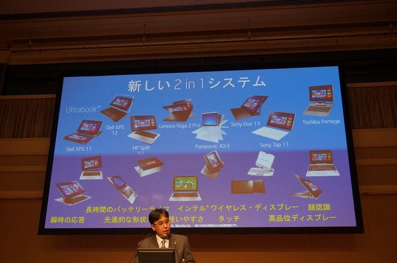 複数のメーカーが2-in-1デバイスをリリースしている