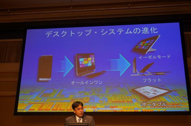 デスクトップPCも、AIO(液晶一体型PC)そして、大型のタブレットへと進化