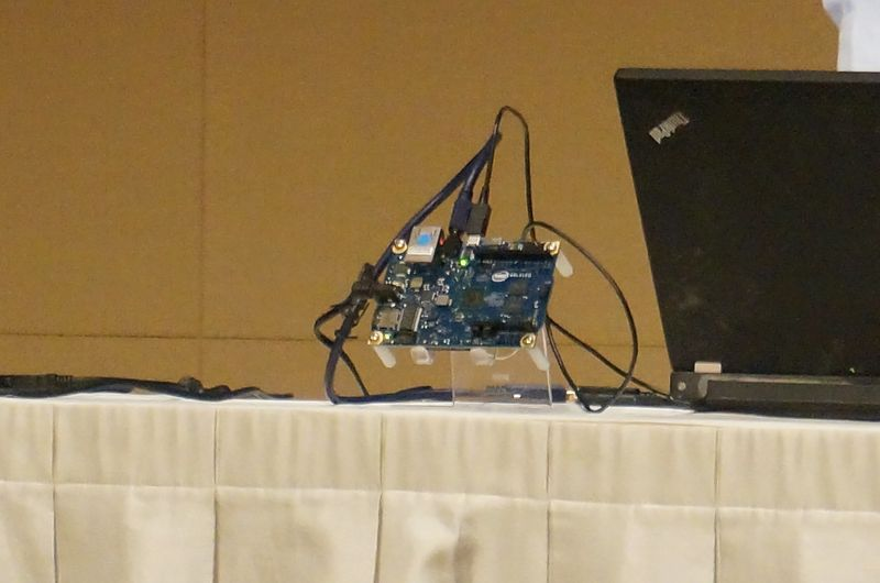 Intelが公開したGalileo