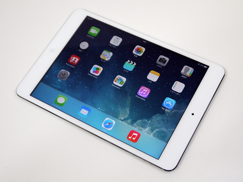 本体色はシルバーのほか、スペースグレイが用意される。容量は16/32/64/128GB。Wi-Fi+Cellularモデルも用意されるなど、iPad Airと同じラインナップ