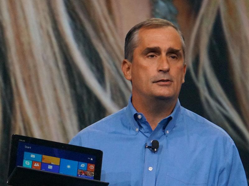 Intel CEO ブライアン・クルザニック氏(9月のIDFにて撮影)