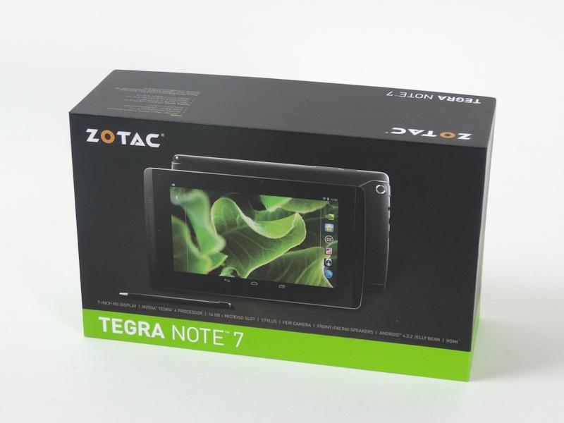 ZOTACの日本向けパッケージ