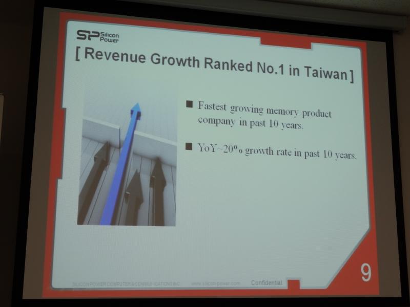 年間の平均成長率は20%で、この10年間で台湾でもっとも成長した企業となった