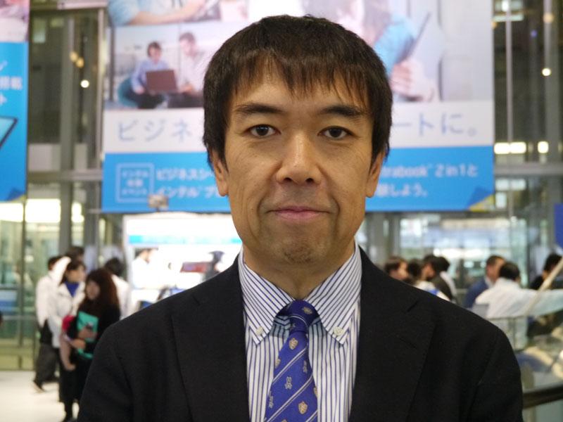インテル マーケティング本部パートナー事業統括部統括部・井田昌也統括部長