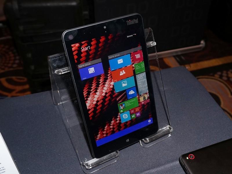 Lenovoが発表したThinkPad 8