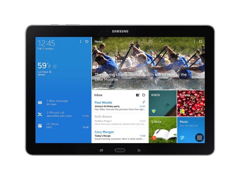 Galaxy TabPRO 12.2型正面