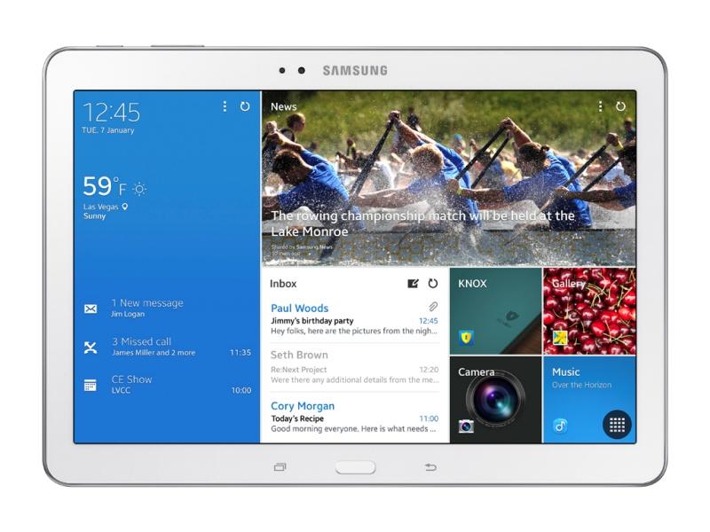 Galaxy TabPRO 10.1型正面