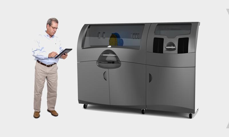 石膏粉末方式を採用した3D Systemsの業務用3Dプリンタ「ProJet 660Pro」