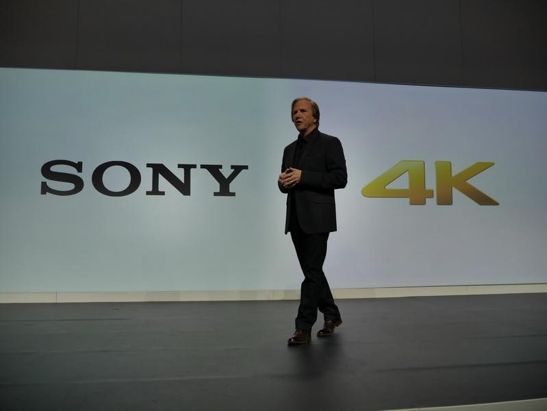 """ソニーのプレスカンファレンスは""""4K""""をクローズアップ"""