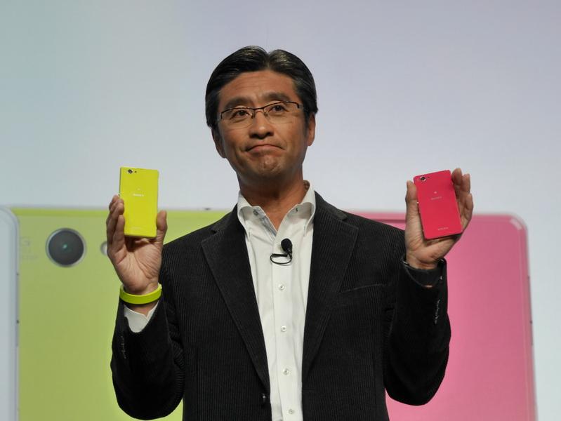 日本でNTTドコモから発売済みの「Xperia Z1 f」の海外モデル「Xperia Z1 Compact」も発表された