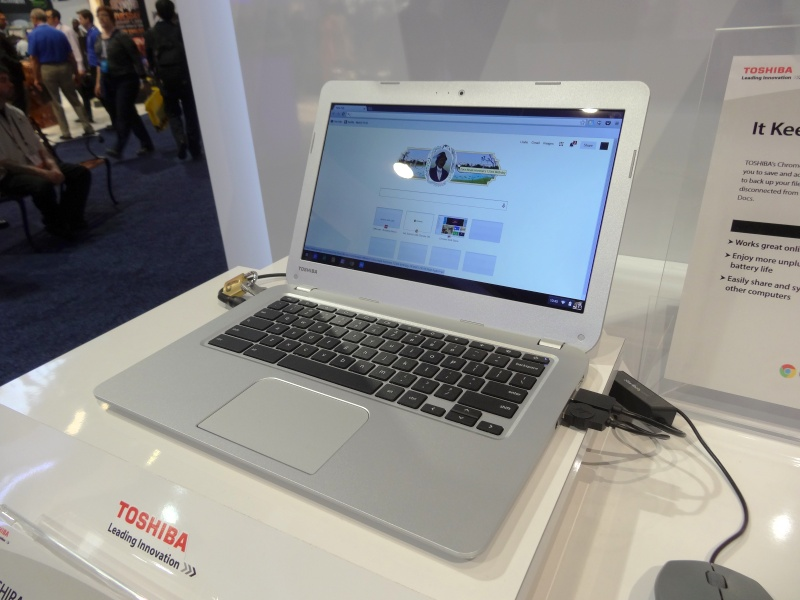 Chromebook。特に型番などはないようだ