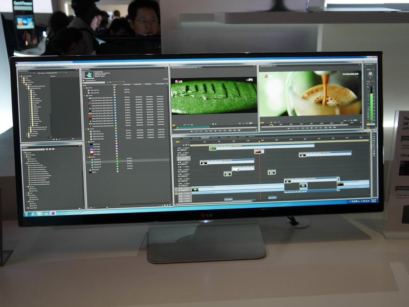 高解像度化されたことで、表示できる情報量が増え、快適な作業環境を実現できる。sRGB 99%以上の広色域表示にも対応