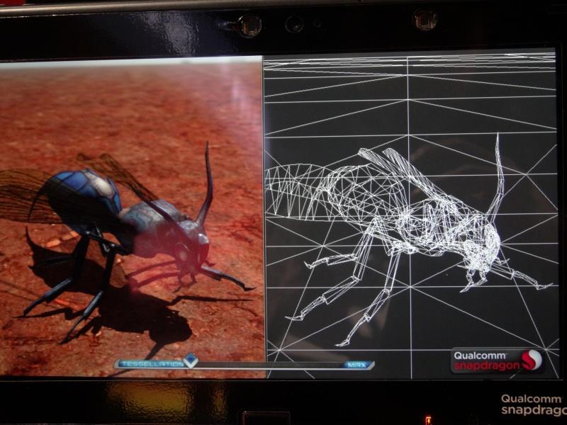 Snapdragon 800で現実的に表示できるポリゴンはこの程度