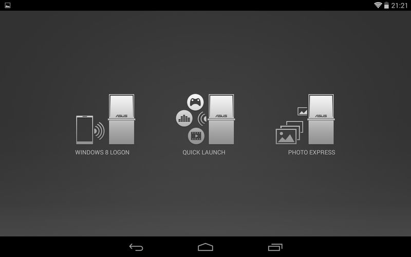 NFC EXPRESS DESKTOPS(Android)/Home
