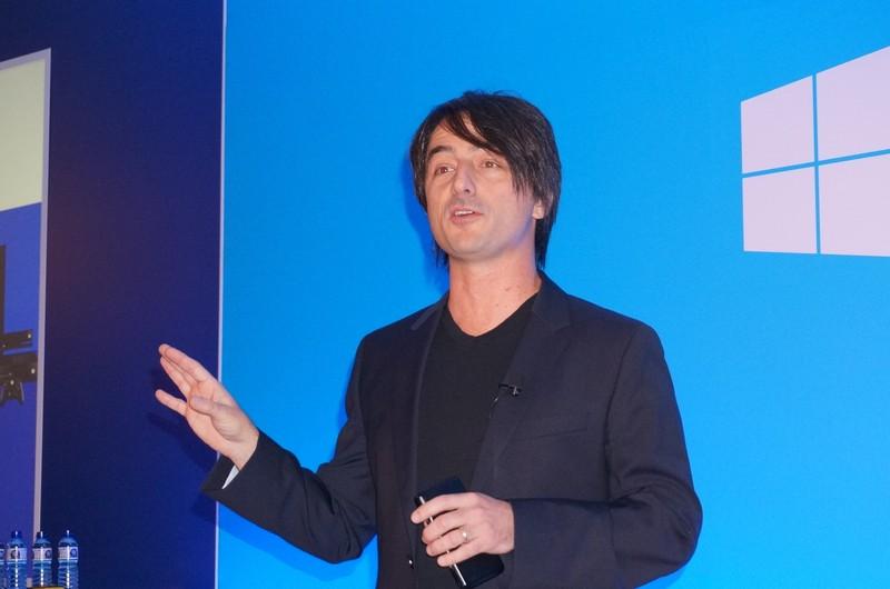 Microsoft OS担当副社長 ジョー・ベルフィオーレ氏