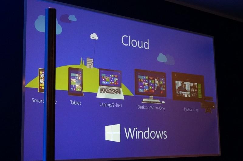 Windowsにはクラウドシステムと連携して動作する複数のOSやフォームファクターがある