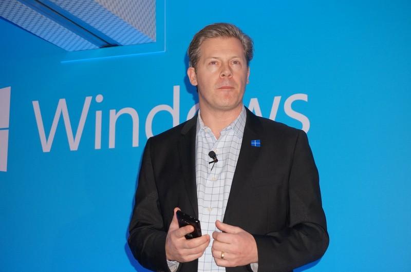 Microsoft ワールドワイドOEM担当副社長 ニック・パーカー氏