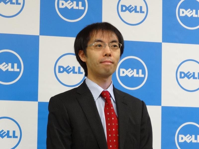 マーケティング統括本部 クライアント製品&ソリューションマーケティング本部 ブランドマネージャーの河田浩行氏