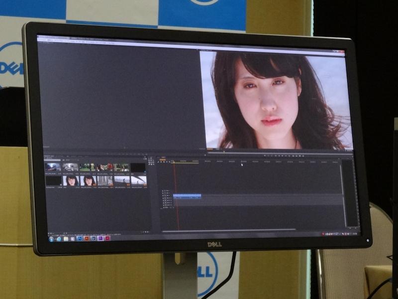 4K映像編集に対応したPremiere Proは、4K映像を1つの完結した環境で編集できるほか、画面の4分の1でフルHDを表示できることから現行の映像編集にも有効であるとした