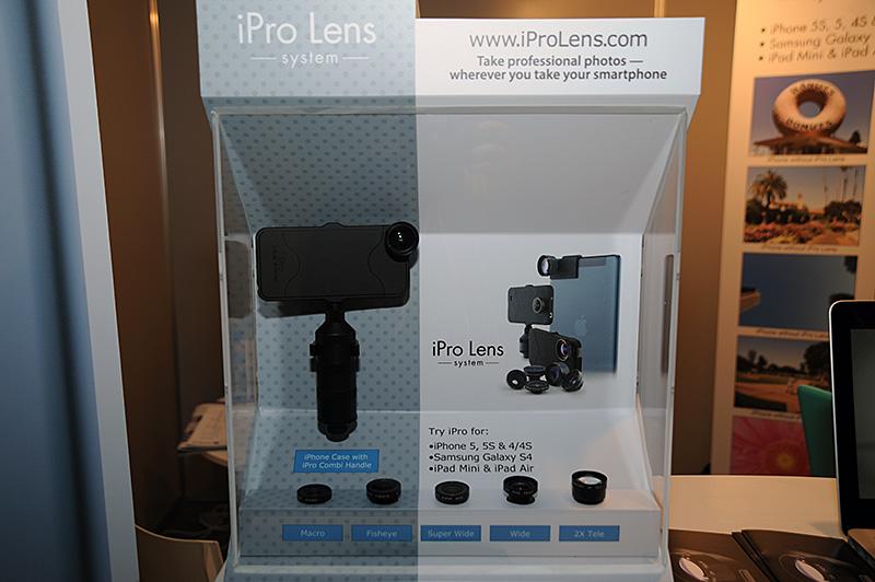 本誌でも何度か紹介しているSchneider OpticsによるiPro Lensシステム。新たにGalaxy S4にも対応する。日本国内では銀一が代理店としてiPhone向けモデルを販売している