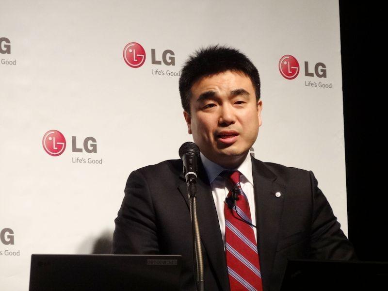 LGエレクトロニクス・ジャパン コンシューマエレクトロニクス セールスチーム次長の道山涼司氏