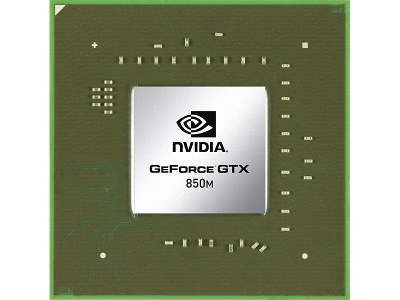 GeForce GTX 850M