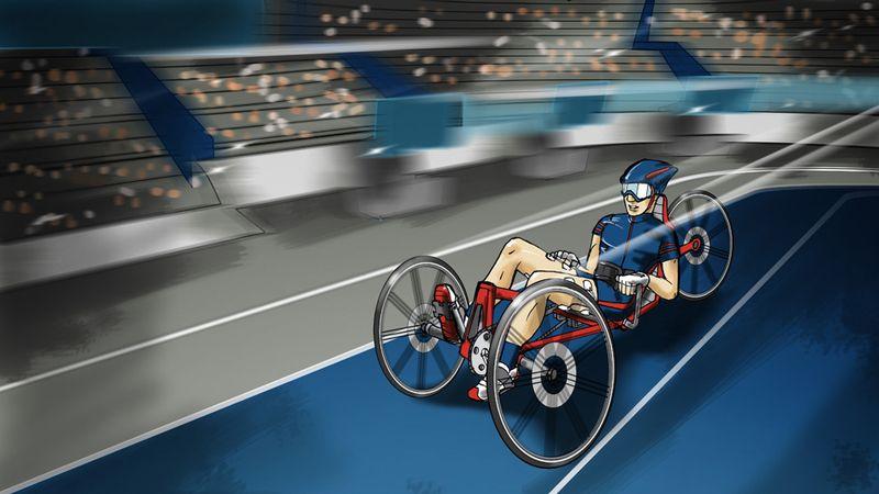 機能的電気刺激自転車レース