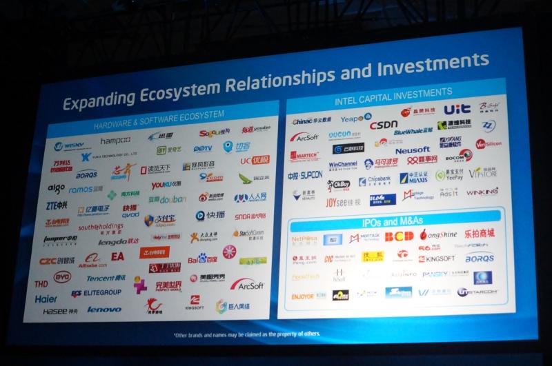 中国で多数のメーカーや投資先との協力を行なっている