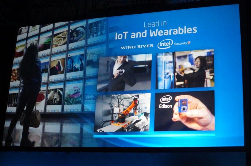 IoTやウェアラブルには新しい事業部を設立して積極的に展開していく