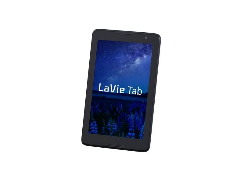 「LaVie Tab E」(TE508/S1L、8型、ネイビーブルー)