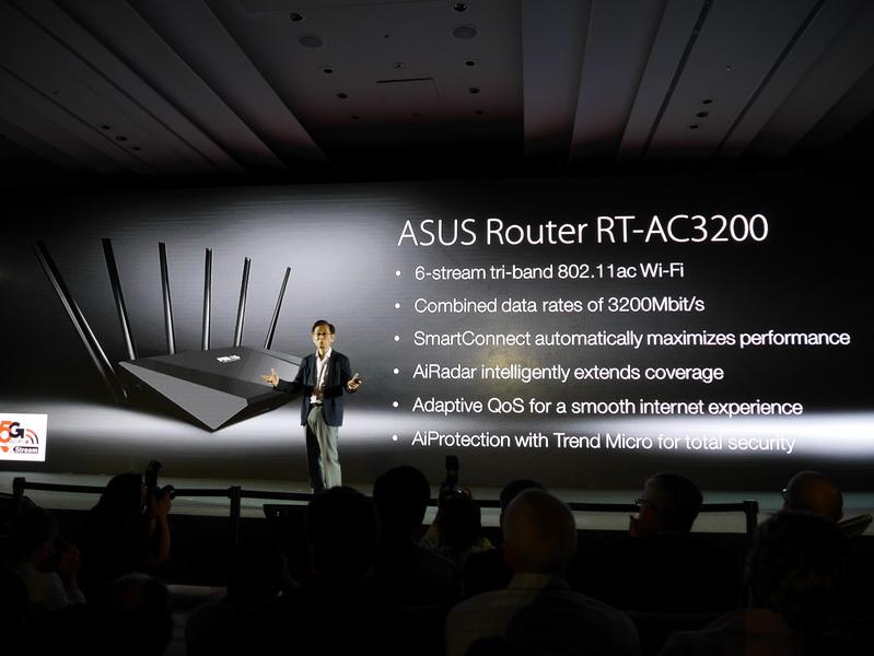 日本で発売されているRT-AC68U同様、機能面も充実している