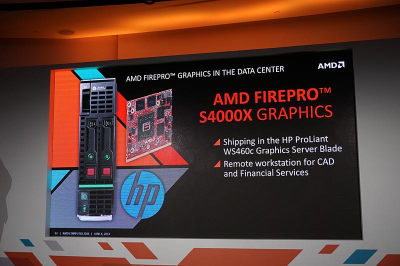 HPのProLiant WS460cというブレードサーバーに搭載され、GPGPU用途に利用される