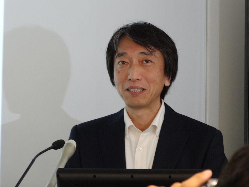 グーグル エンタープライズ部門マネージングディレクターの阿部伸一氏