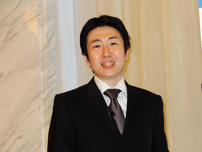 エンドユーザー・コンピューティング統括本部 クライアント製品・ソリューションマーケティング部長の秋島氏