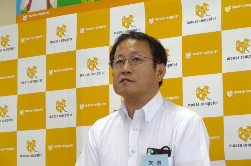 午後の部来賓の山崎美典飯山市役所経済部長