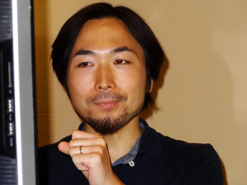 CGスーパーバイザーの鈴木健之氏