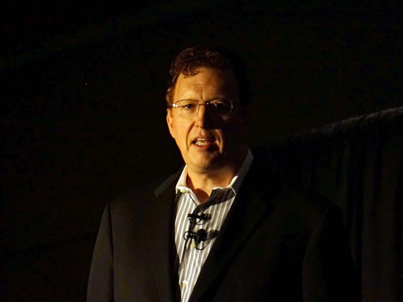 Bob Brennan氏(Senior VP, Samsung Semiconductor)