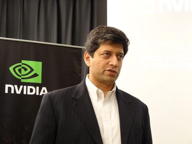 NVIDIAプロフェッショナル・ソリューション・ビジネス プロダクトマーケティング シニアディレクターのサンディープ・グプテ氏