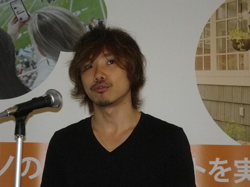 ログバーの吉田卓郎氏