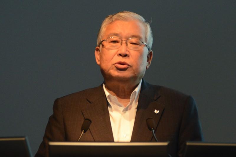 キヤノンマーケティングジャパン株式会社代表取締役社長の川崎正己氏