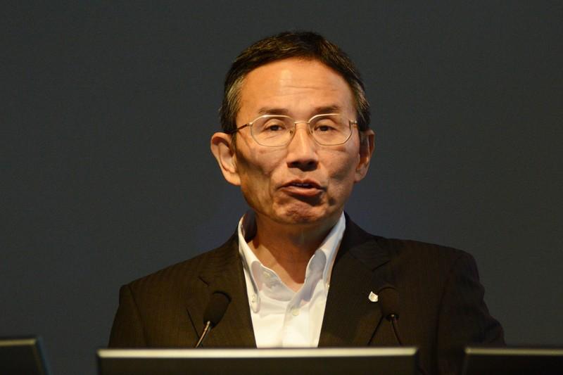 キヤノン株式会社取締役 インクジェット事業本部長の大塚尚次氏