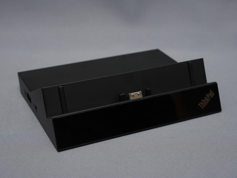 ThinkPad 10に各種接続ポートを拡張する「ThinkPad Tabletドック」