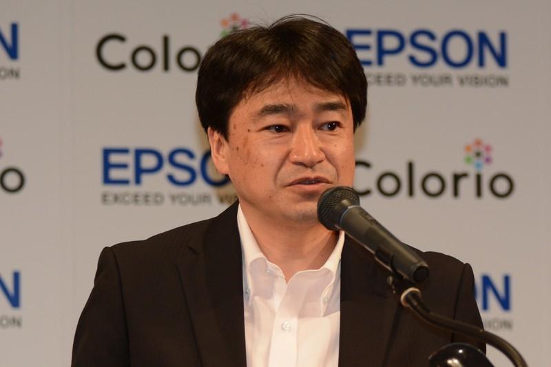 エプソン販売株式会社 取締役 販売推進本部長 鈴村文徳氏
