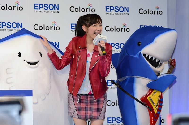渡辺麻友さんとエイさん、ちいサメ